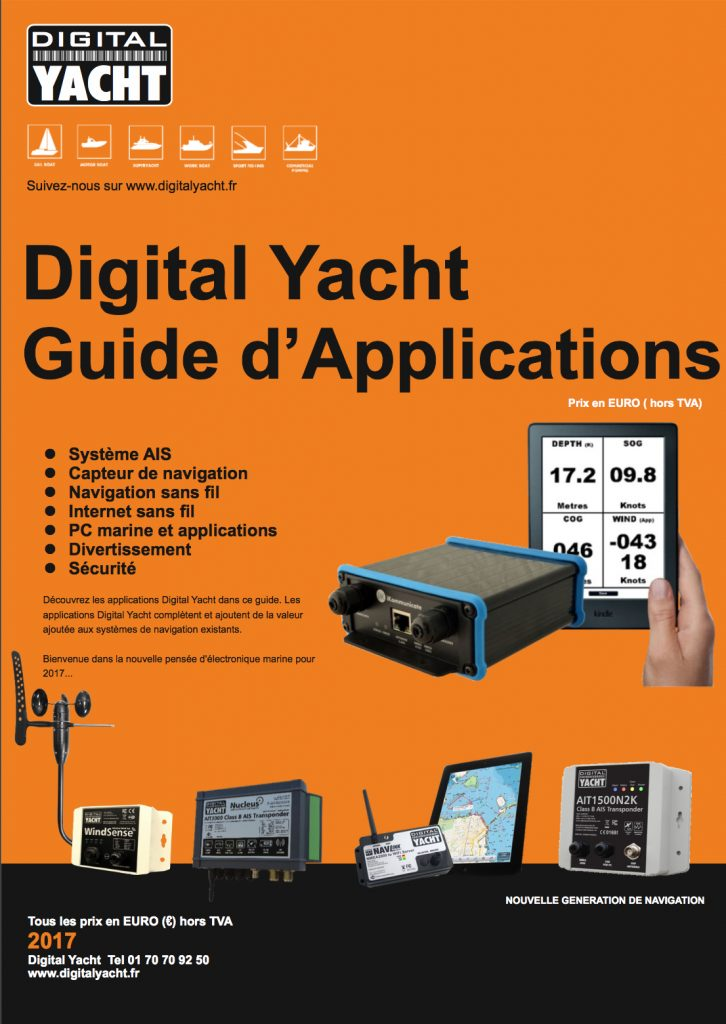 Digital Yacht guide applications 2017