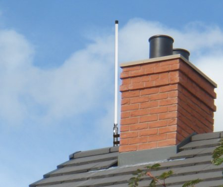 AIS Antenna on Roof