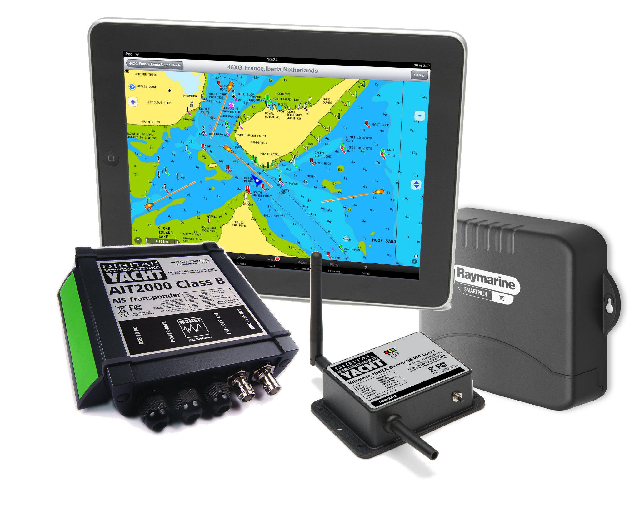 AIT2000+WLN10+iPad+AutoPilot