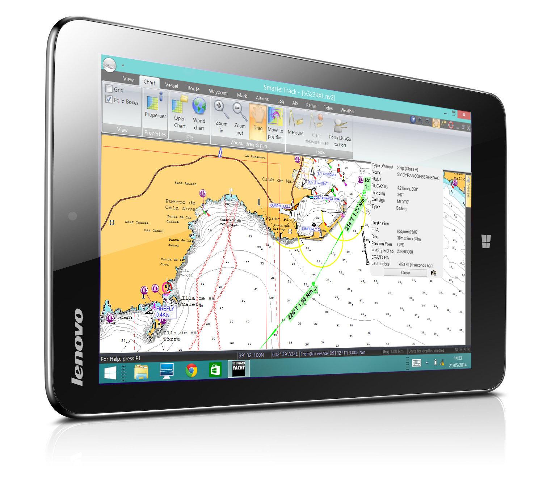 Lenovo Tablet with SmarterTrack