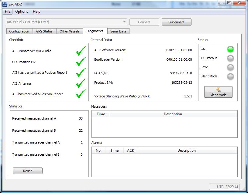 Capture d'écran de ProAIS2