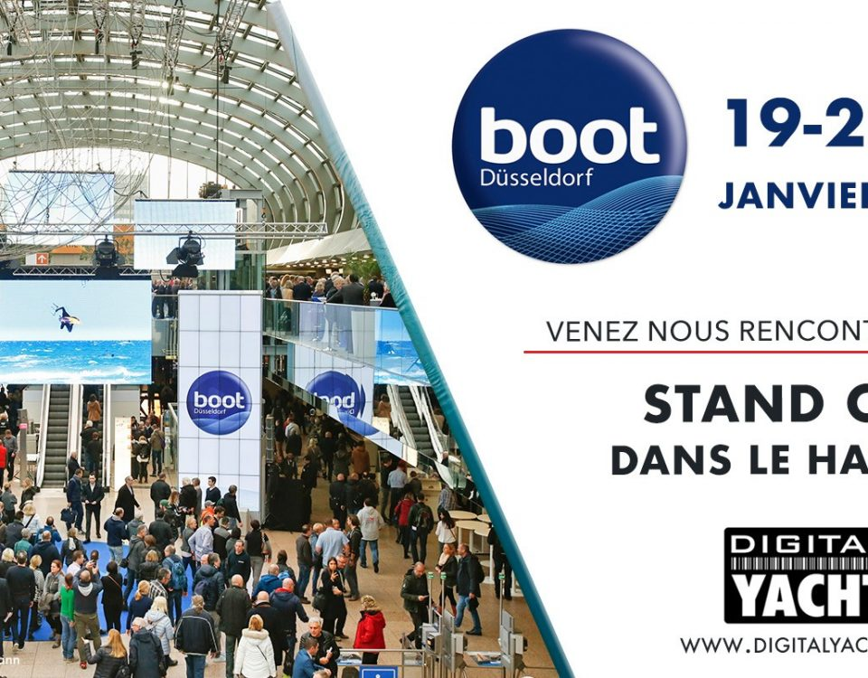 Digital Yacht exposera au Boot de Dusseldorf