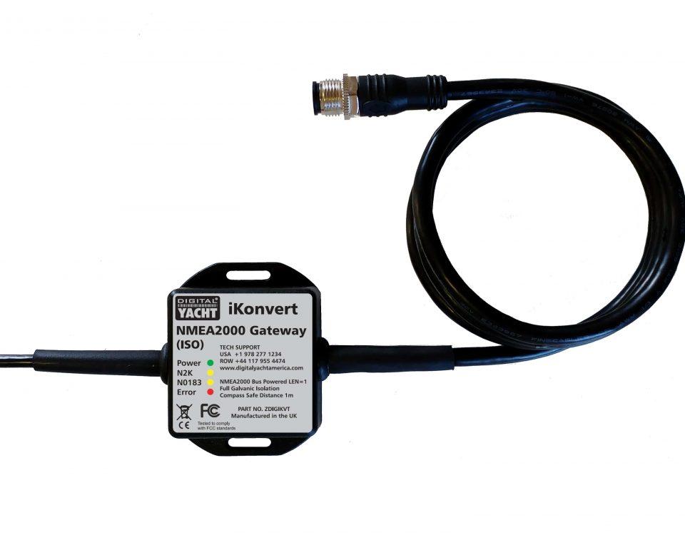 iKonvert est un convertisseur NMEA2000 NMEA0183