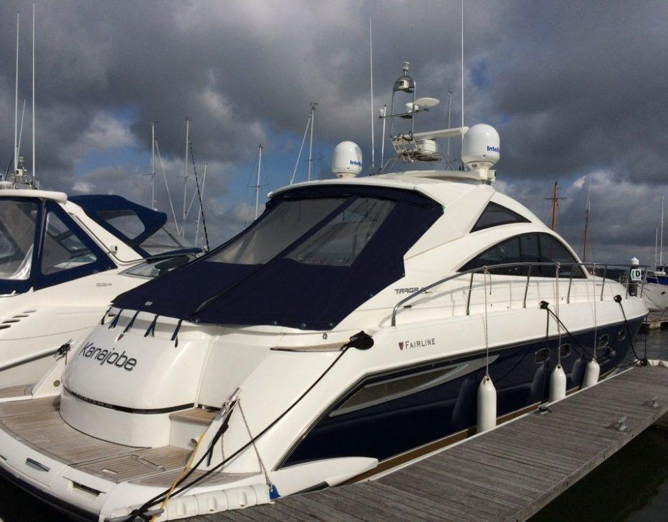 WL510 sur bateau Fairline 47