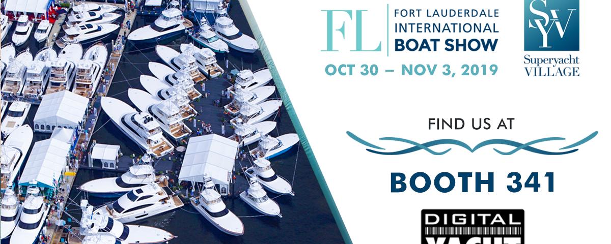 Digital Yacht au salon nautique de Fort Lauderdale
