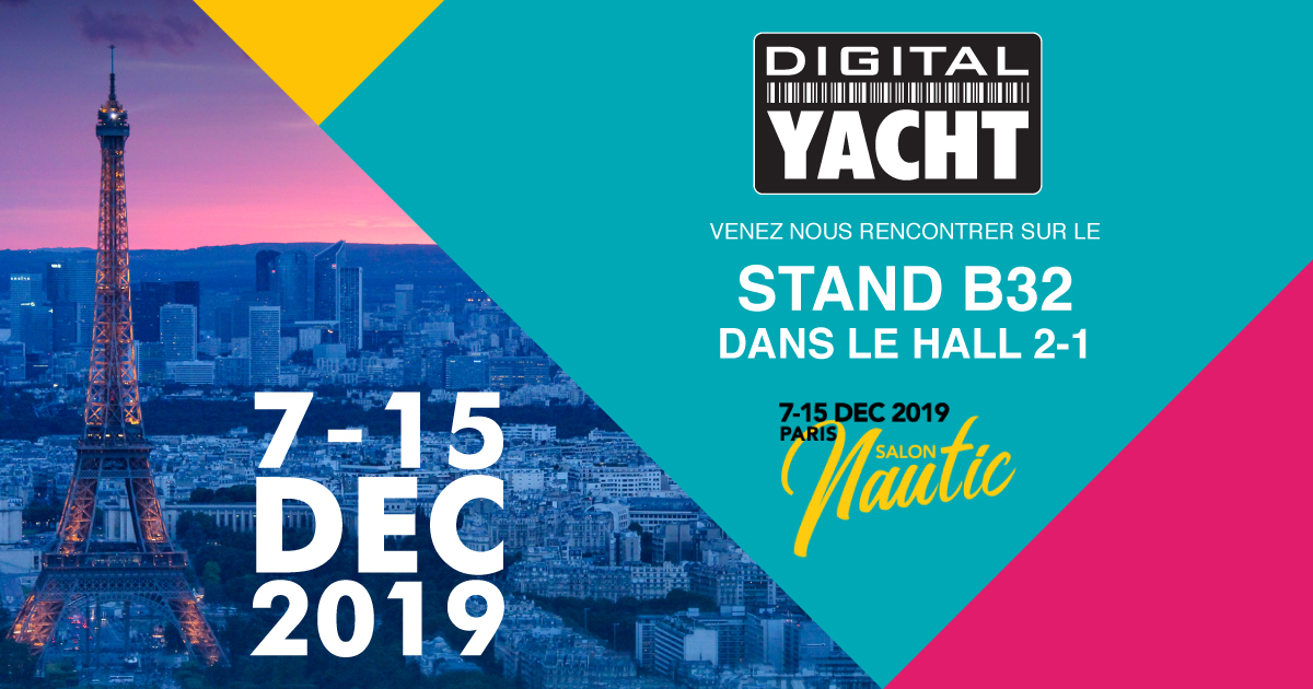 Digital Yacht au Nautic de Paris