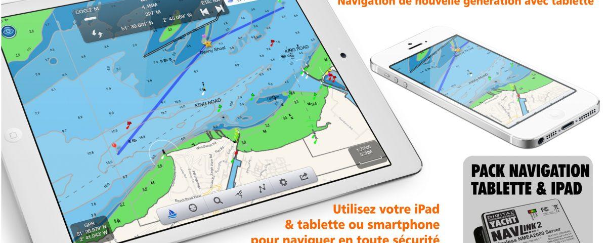 Navigation par tablette & ipad