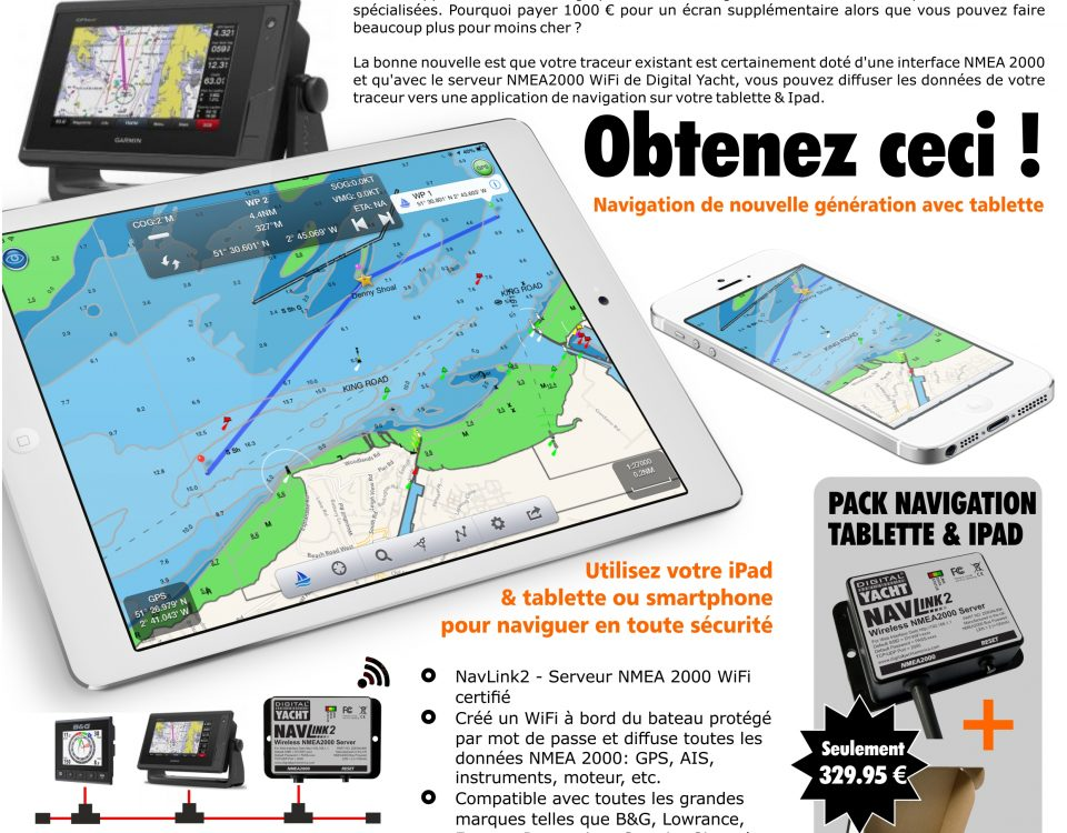 Navigation par tablette & ipad