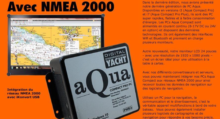 Newsletter de Digital Yacht juillet 2020