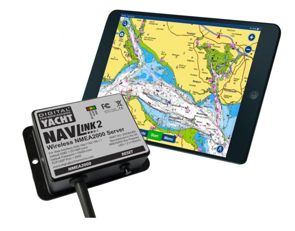 Configurer serveur NMEA WiFI avec Navionics