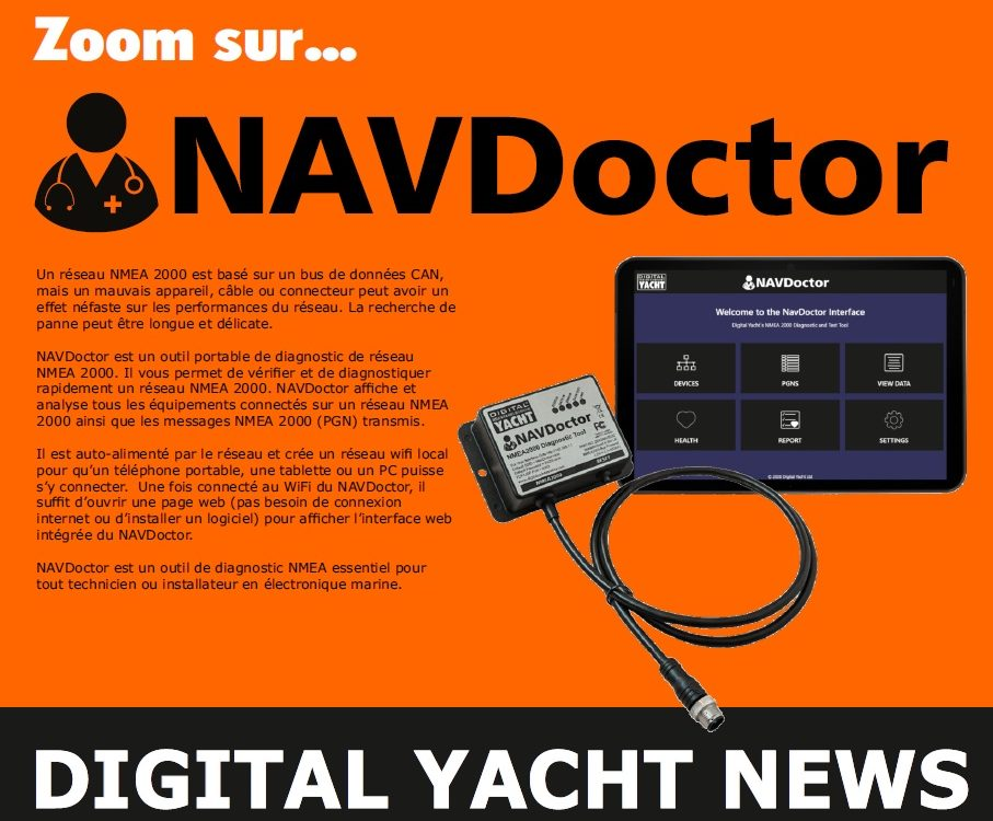 newsletter de septembre 2020 Digital Yacht