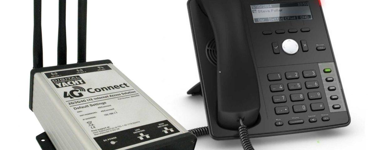 appels vocaux 4G Connect