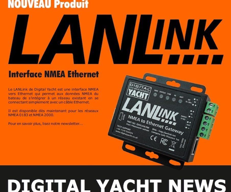 Newsletter de Digital Yacht en Janvier 2021