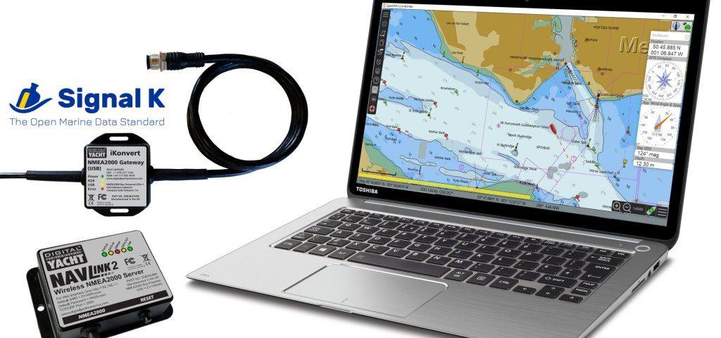 Signal K sur le logiciel de navigation OpenCPN