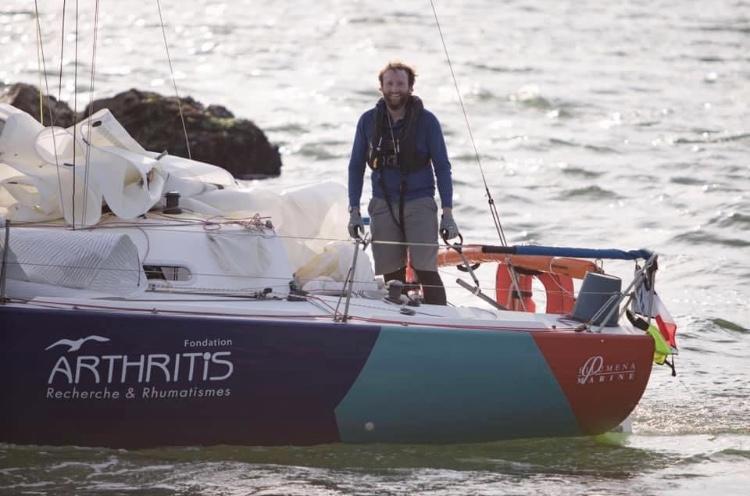 L'antenne GPS160 sur le bateau Fonce Alphonse