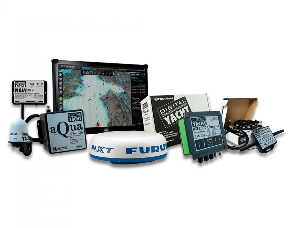 Systeme de navigation PC avec radar Furuno et logiciel TimeZero