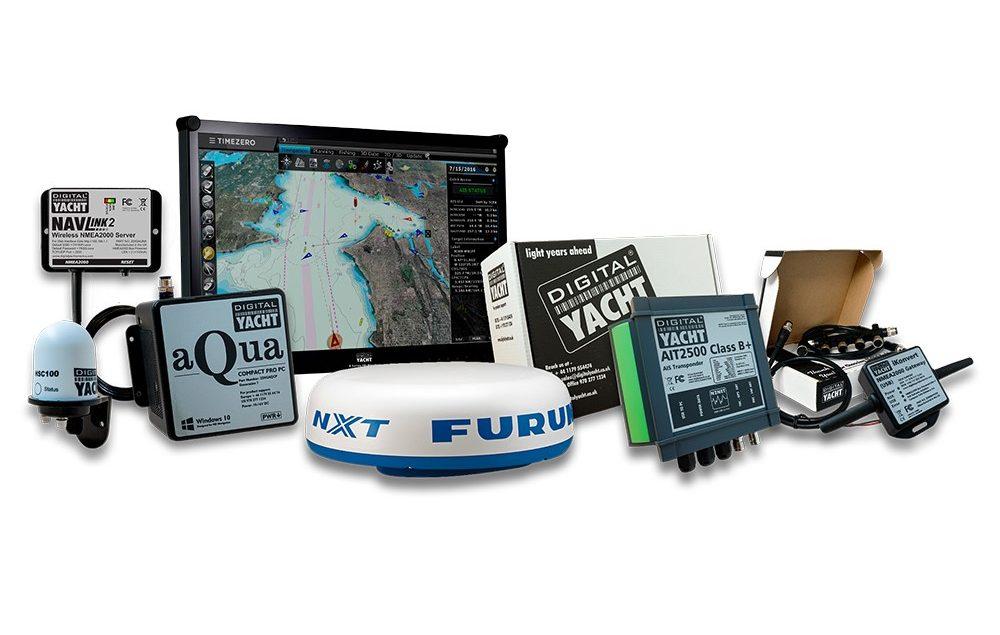 Solution de navigation PC avec radar et timezero