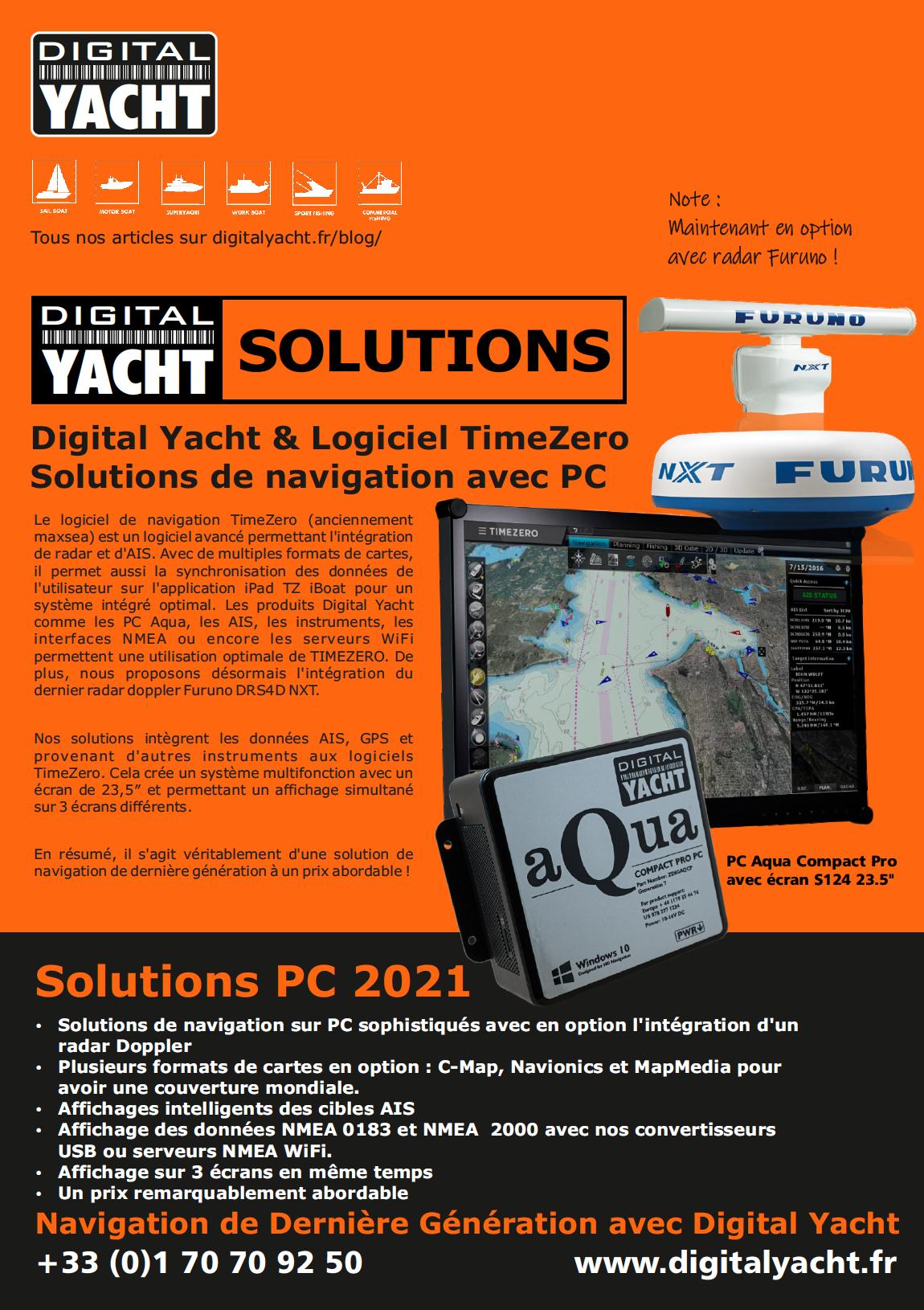 Solutions de navigation PC