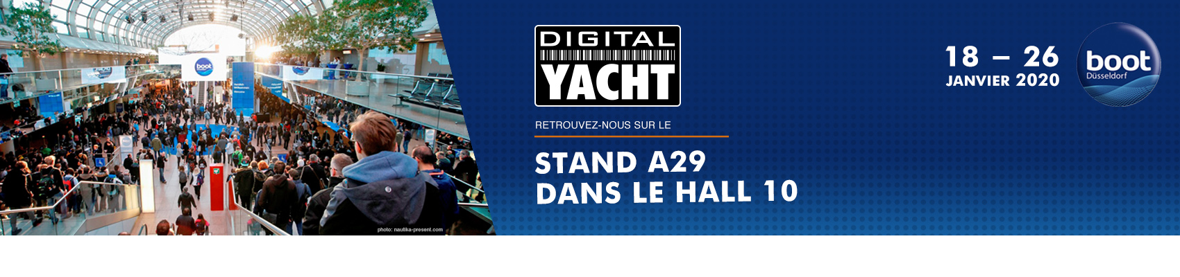 Digital Yacht au Boot de Dusseldorf